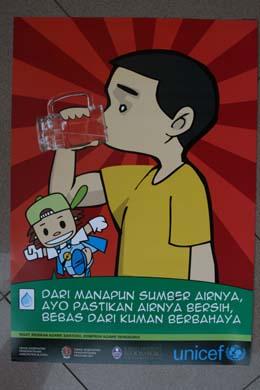 Sumber airnya, ayo pastikan airnya bersih, bebas dari kuman berbahaya